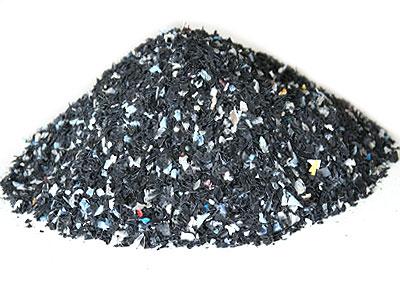 pile of repo hdpe granules